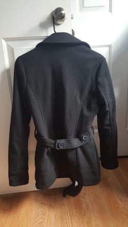 Black trench coat Thumbnail