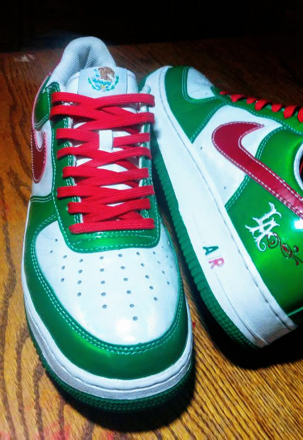 online store c0f13 23d4d Nike AF1 Mr Cartoon Cinco De Mayo for Sale in Papillion, NE - OfferUp