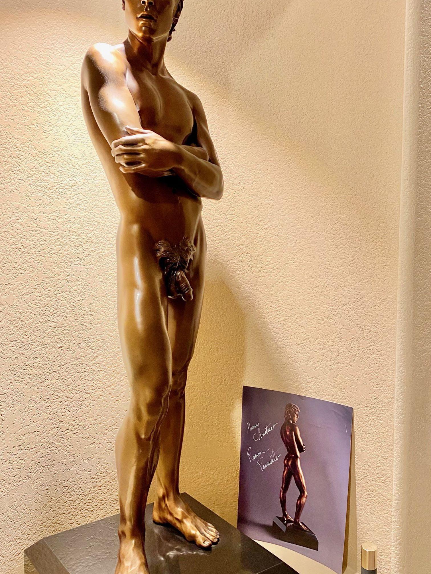"""Undaunted"" Bronze Sculpture Ramon Parmenter"
