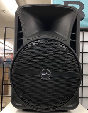 Speaker with Bluetooth USB port radio and microphone 12inch for Sale in Kissimmee, FL
