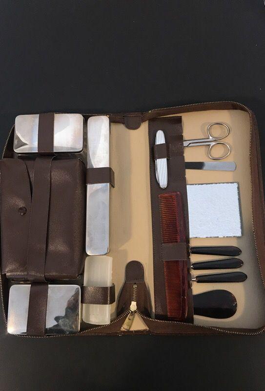 Vintage German hygiene kit