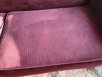 """Firm Like NEW. COUCH - SOFA 6'7"""" Thumbnail"""