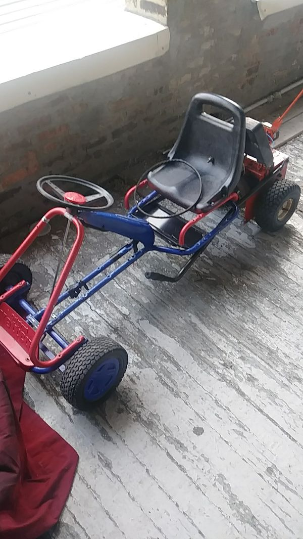 Electric Go Kart 2hp New Motor 20 Mph