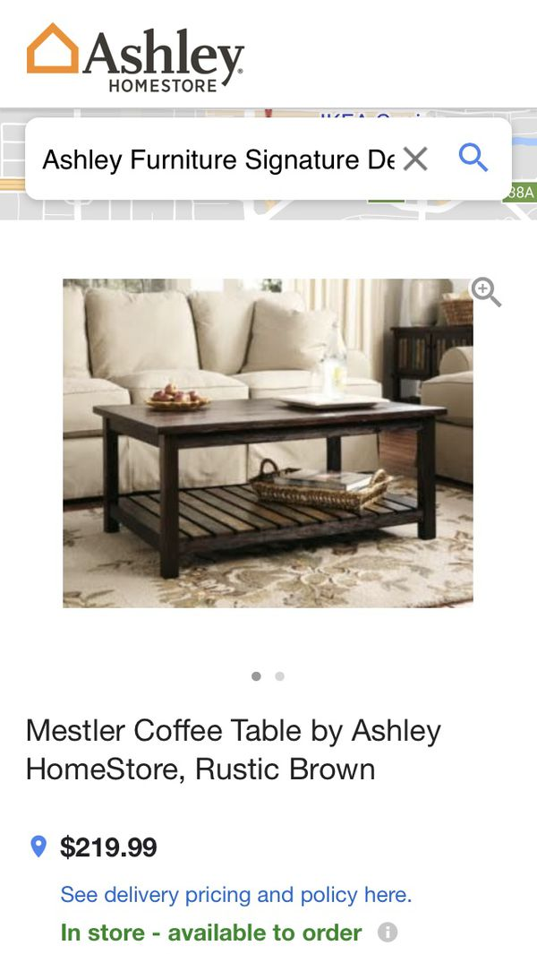 Coffee Table Lightly Used 1 Year Furniture In Azusa Ca Offerup