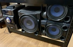 Sony 2 Speaker/ Sub Stereo System (Boombox) for Sale in Indianapolis, IN