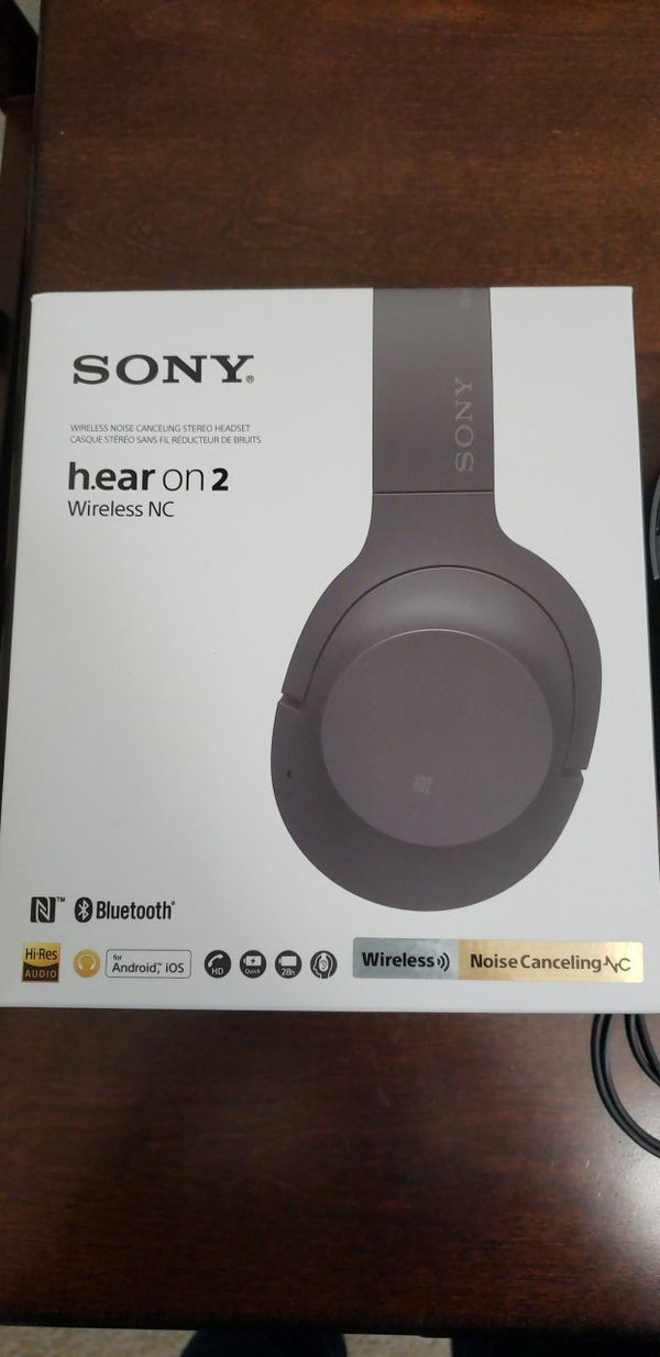 72d8c147929 Sony hear on 2 wireless noise cancelling headphones for Sale in ...
