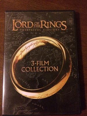 Lord of the rings-3 film collection for Sale in Cary, NC