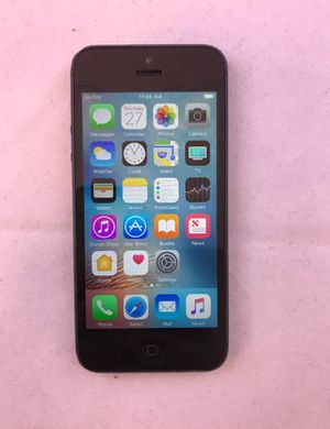 Apple iPhone 5 -Black 64GB Unlocked -4G LTE Smartphone for Sale in Laurel, MD