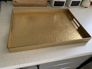 Gold Tray - Decor for Sale in Columbus, OH