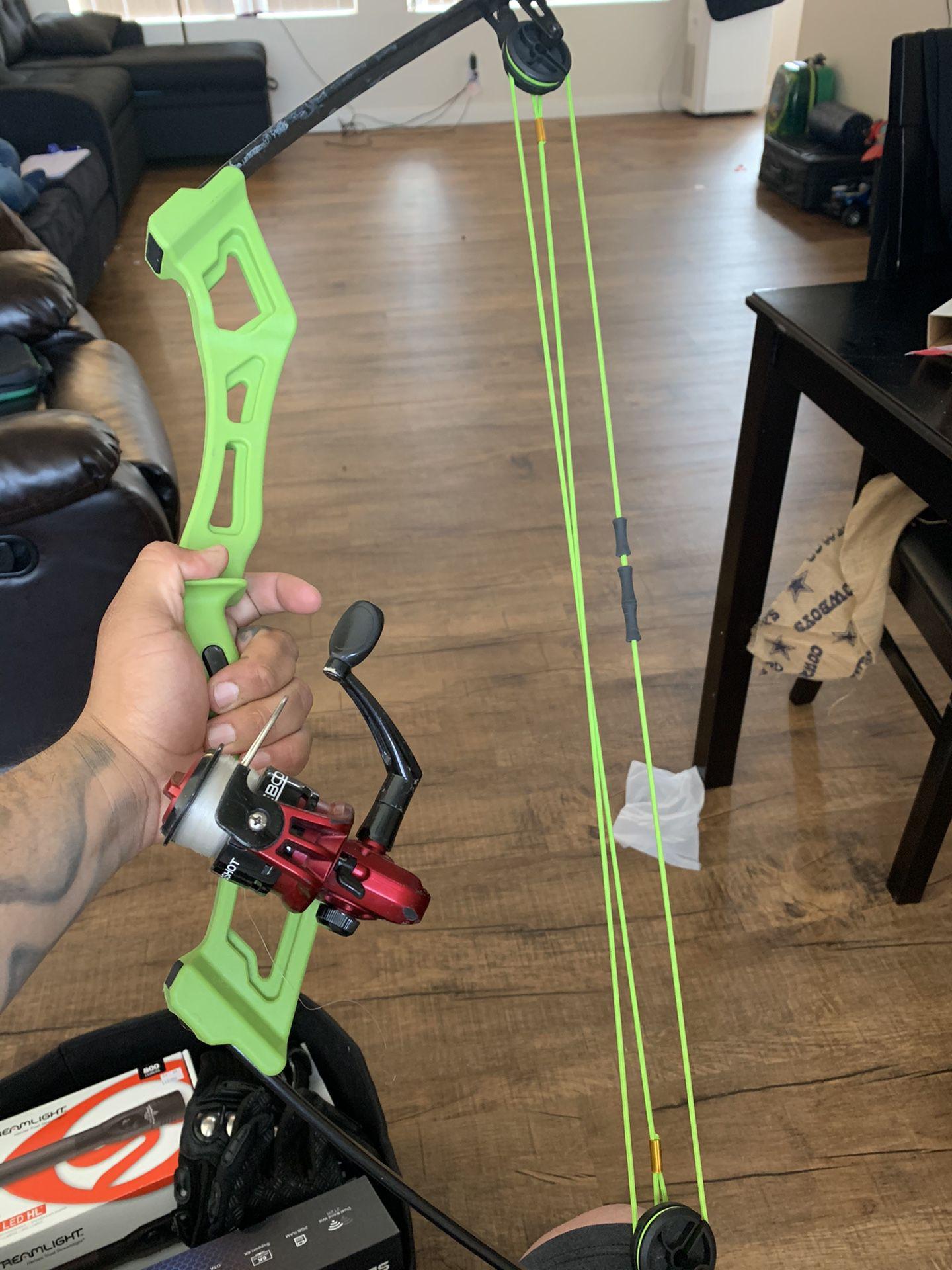 Photo Homemade Fishing Bow