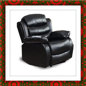Black recliner chair for Sale in Herndon, VA