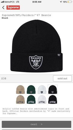 d1420177f New and Used Supreme beanie for Sale in Long Beach, CA - OfferUp