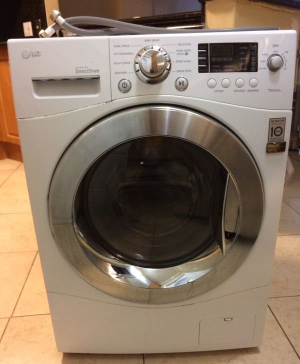 Lg Washerdryer Combo Perfect For Apartments No Vent Negotiable