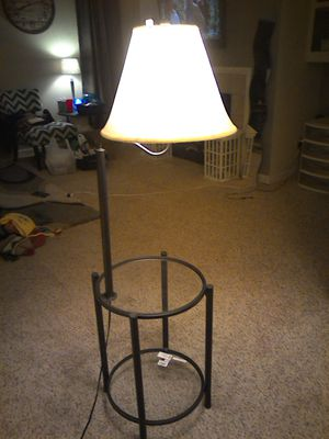 Practically New Side Table Lamp Combo For In Raleigh Nc