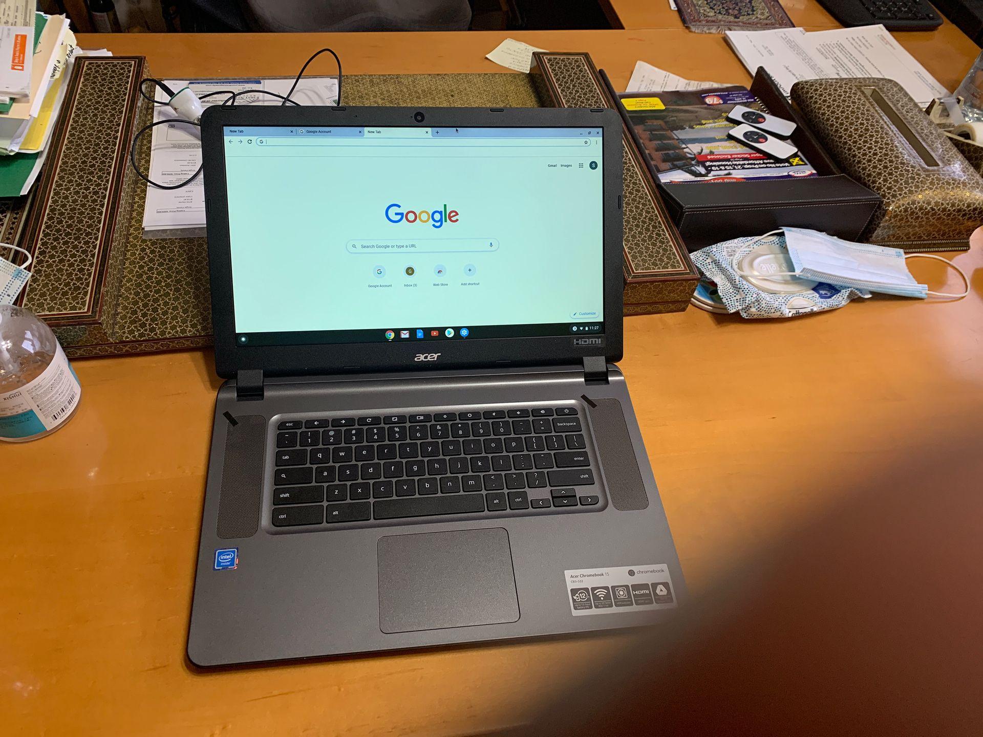 "Acer Chromebook 15"" CB3-532"