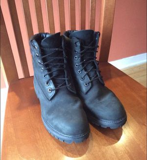 Men's Size 6 Timberland Boots - Black for Sale in Chicago, IL