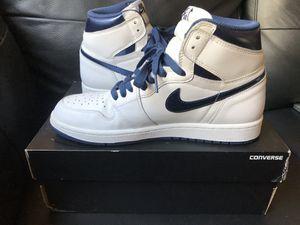 "Air Jordan High ""Metallic Blue"" 1's for Sale in Los Angeles, CA"