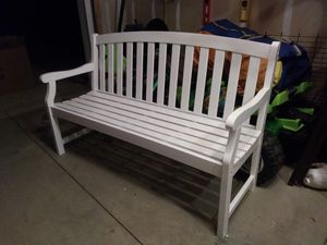 White Bench New 5ft long for Sale in Lillington, NC
