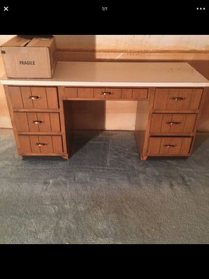 Wood Office desk or computer desk for Sale in Parma, OH