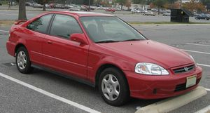 2000 Honda Civic EX 2 Doors Coupe 4 cylinders VTEC 171 K miles for Sale in Ruther Glen, VA