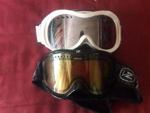 Von Zipper snow boarding goggles. Brand new condition. 2 pairs. for Sale in Everett, WA