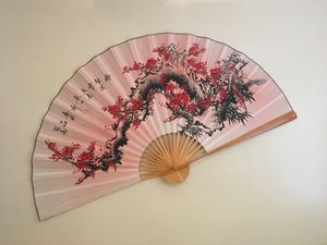 Decorative cherry blossom wall fan for Sale in San Diego, CA