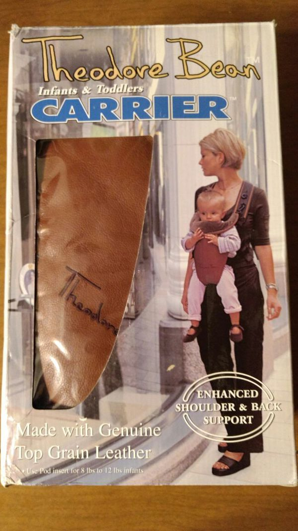 f344c093c41 Theodore Bean leather baby carrier for Sale in Indianapolis