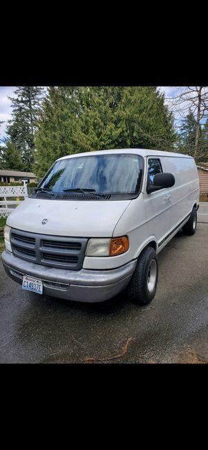 Photo 2001 Dodge Ram van work van van 6 cylinders
