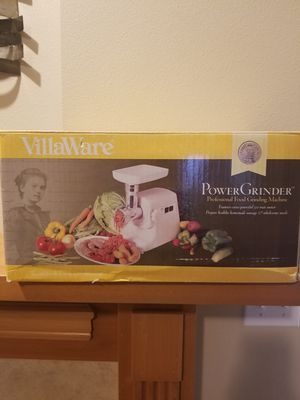 Villaware powergrinder for Sale in Seattle, WA