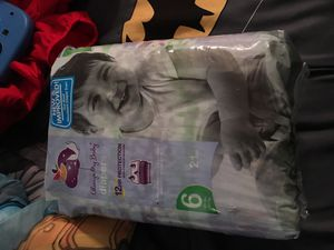 Always my baby diapers size 6 for Sale in MONTGOMRY VLG, MD