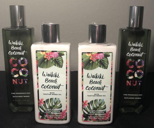 Bath Body Works Waikiki Beach Coconut For Sale In