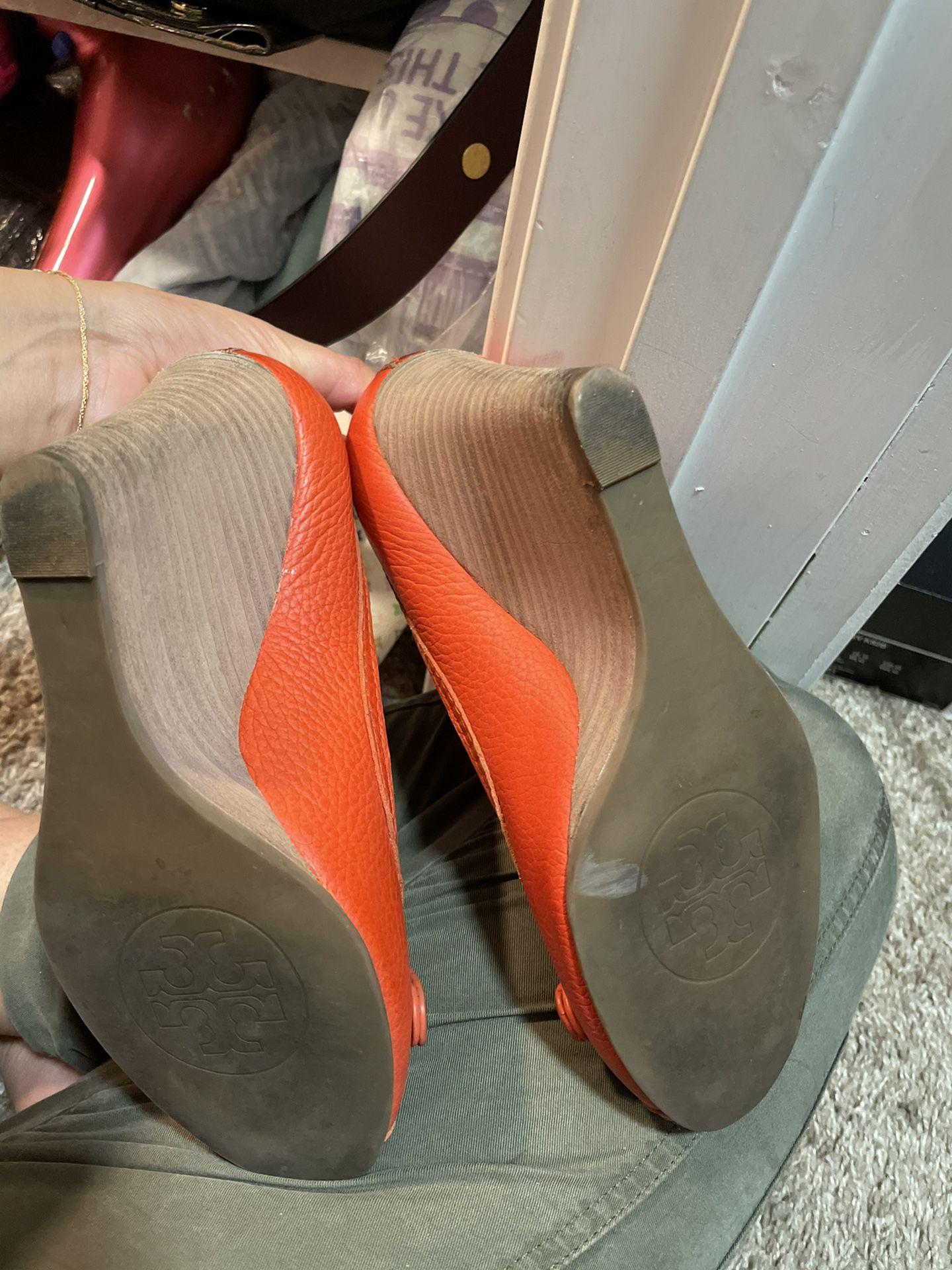 Tory Burtch Used Heels Size 6