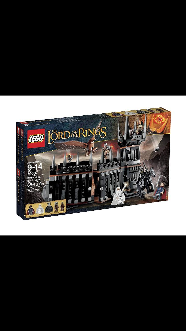 Brand New Lord of the Rings LEGO 79007 Battle at the Black Gate