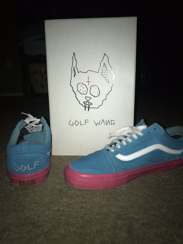 5a6055fe3a5a Golf wang vans bundle for Sale in Fontana