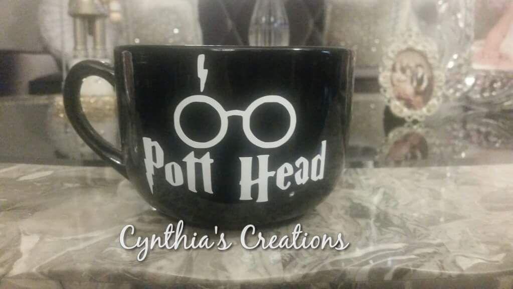 Harry potter custom mug