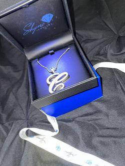 """Shyne Jewelers """"C"""" Pendent  Thumbnail"""