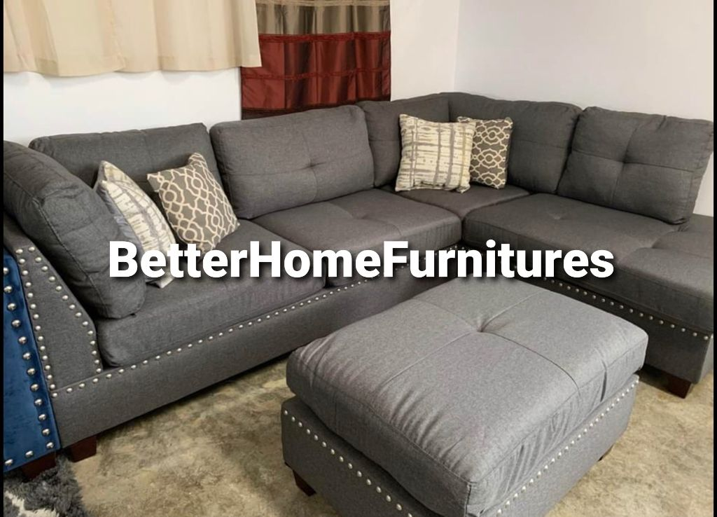 New sectional in box /sofa couch loveseat Finance Available