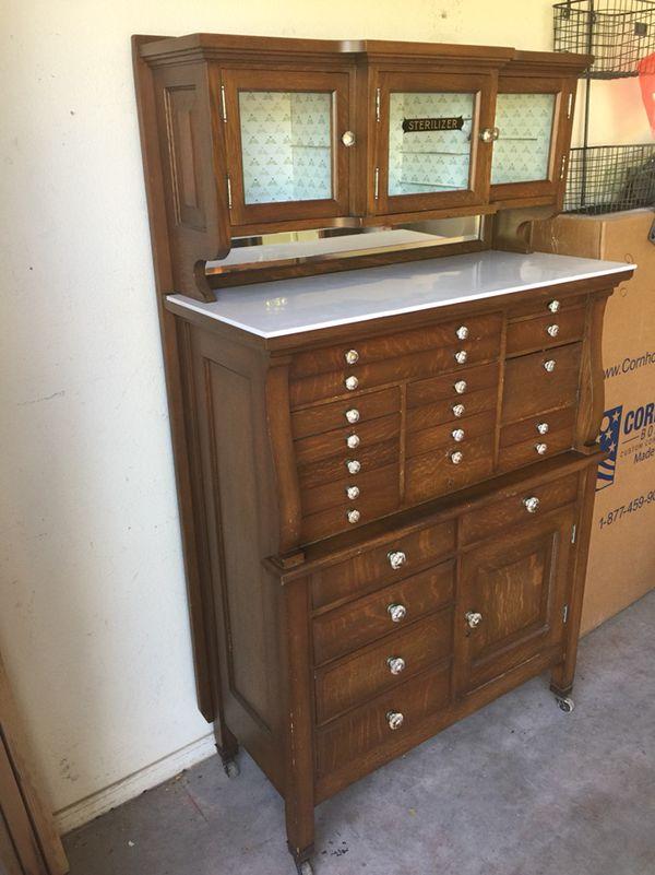 - Antique Dental Cabinet (Antiques) In Gilbert, AZ - OfferUp