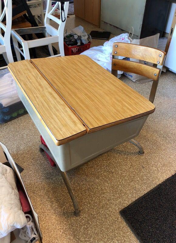 - Antique Student Desk (Antiques) In Temecula, CA - OfferUp