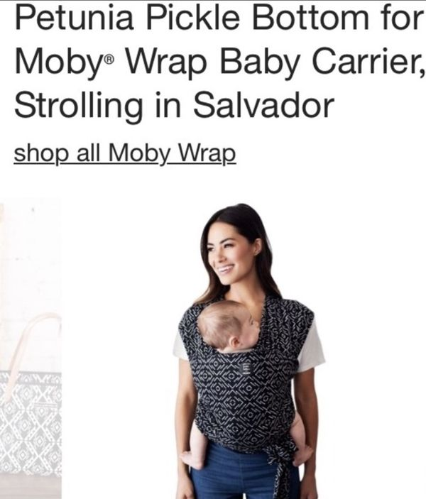 Petunia Pickle Bottom Moby Wrap For Sale In Apple Valley Ca Offerup