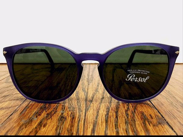 fae0c4cdf0 Cobalt Blue   Silver Erika Wayfarer Style Sunglasses (3007-S 9020 31  Cobalto) - Persol for Sale in Los Angeles