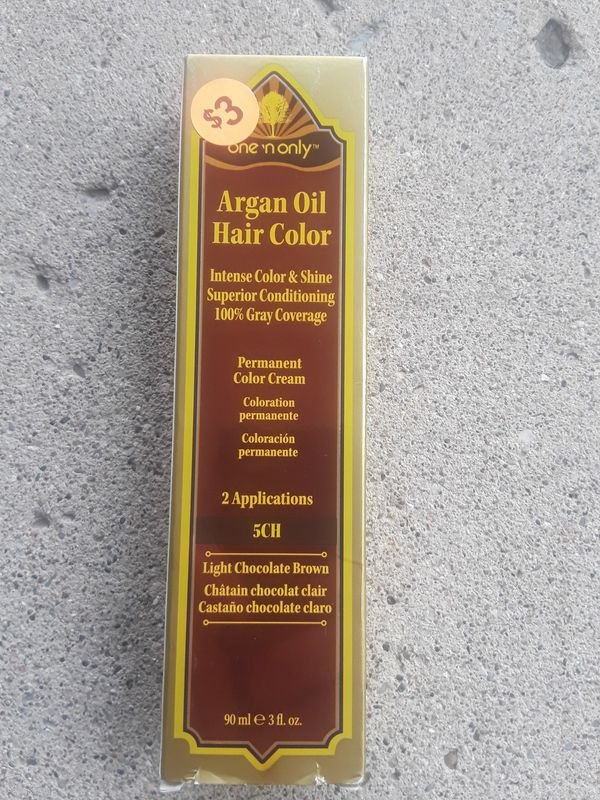 One N Only Argan Oil Hair Color 5ch Light Brown For Sale In Taylor