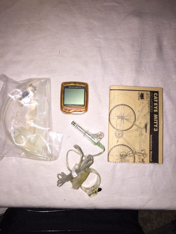 Cat Eye Mity 3 CC-MT300 for bike riding monitor asking $20
