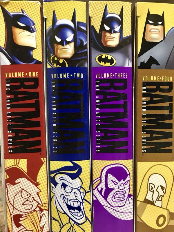 Batman The Animated Series Complete Dvd Set Volume 1 2