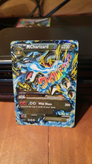 Mega Charizard x/blue for Sale in Chagrin Falls, OH