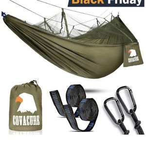 Camping Hammock Lightweight Portable Double Parachute Hammocks for Sale in Overland Park, KS