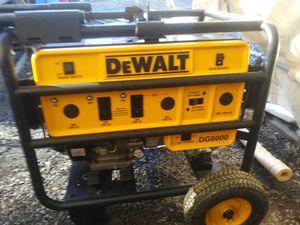 DeWalt generator for Sale in Spanaway, WA