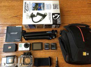 GoPro Hero 3 Plus Black Edition + Accessories for Sale in Manassas, VA
