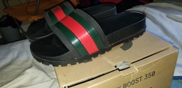 992ef0ff8 Gucci web slide sandals for Sale in Tampa, FL - OfferUp