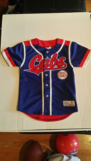 Great MLB kids children's embroidered patch Cubs Jersey for Sale in Chicago, IL